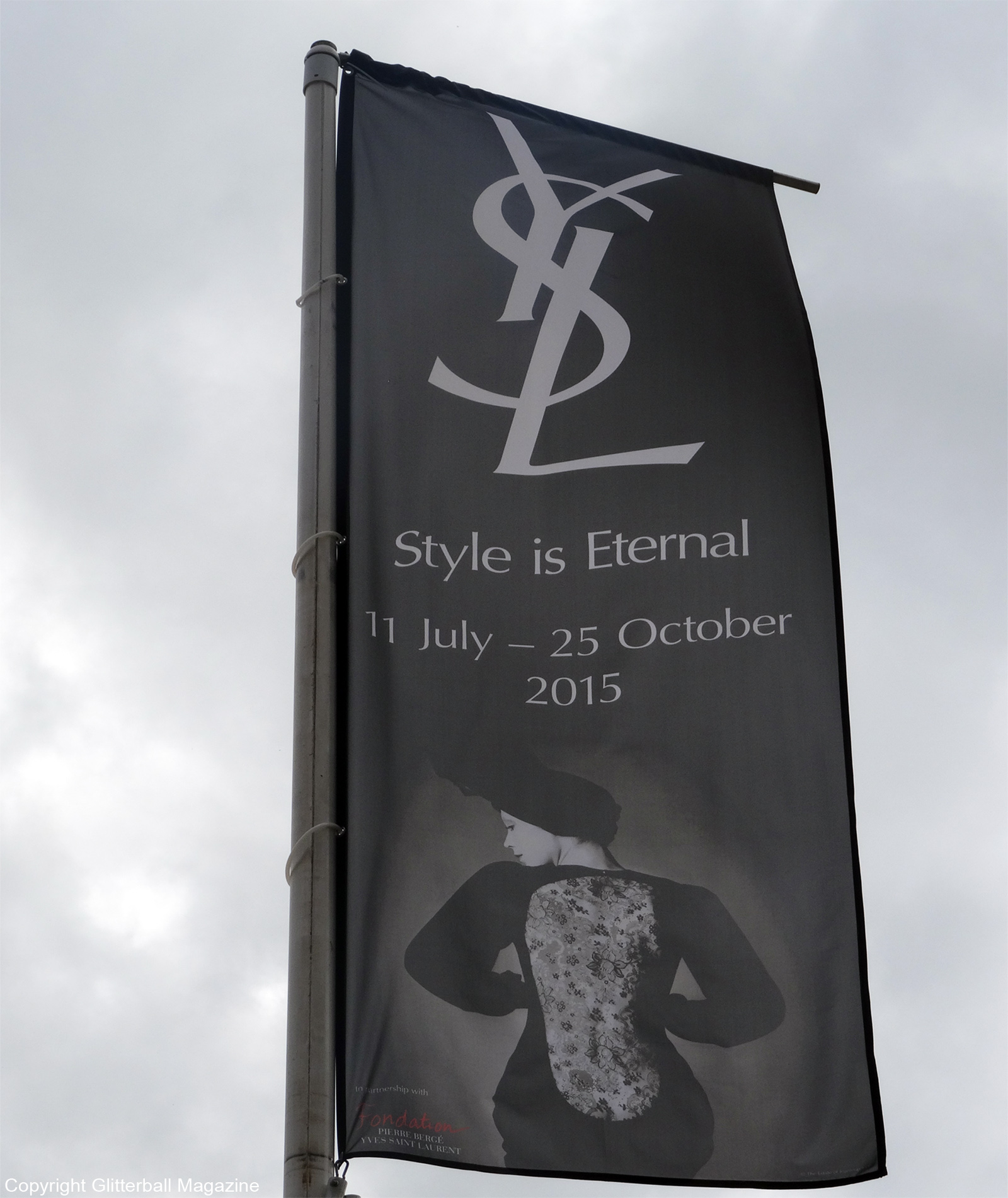 YSL poster bowes