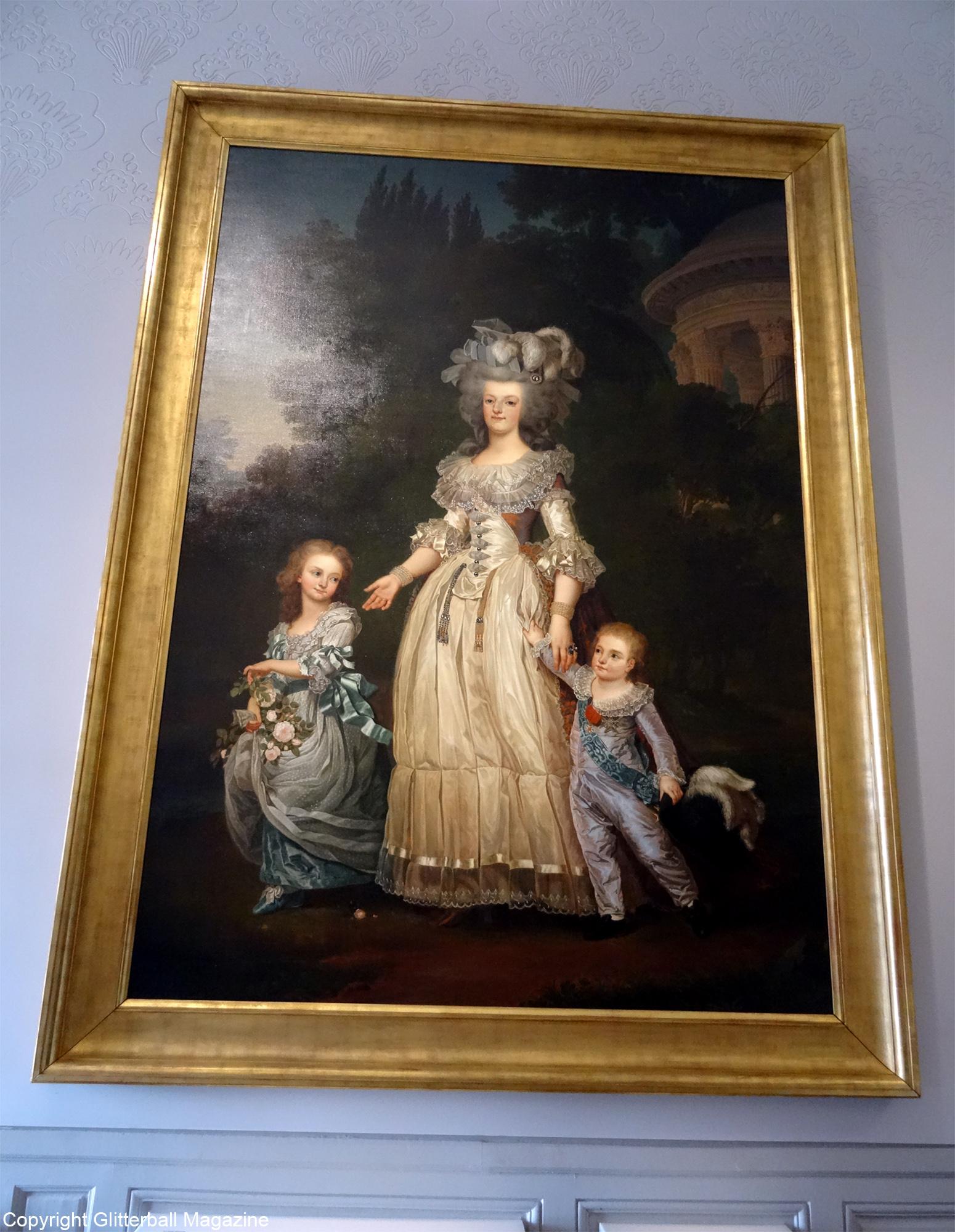 Marie Antoinette Painting. A Trip To The Luxurious Cau De Versailles.  Charmant Die Besten Blair Waldorf Schlafzimmer ...