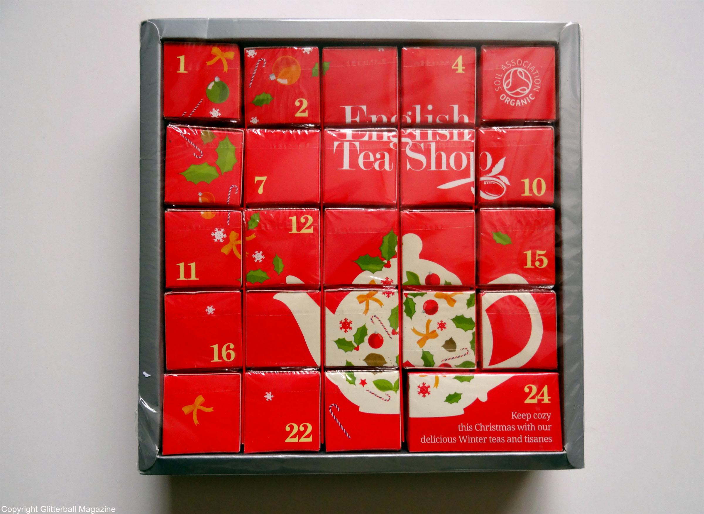 CHRISTMAS COUNTDOWN WITH A TEABAG ADVENT CALENDAR ...