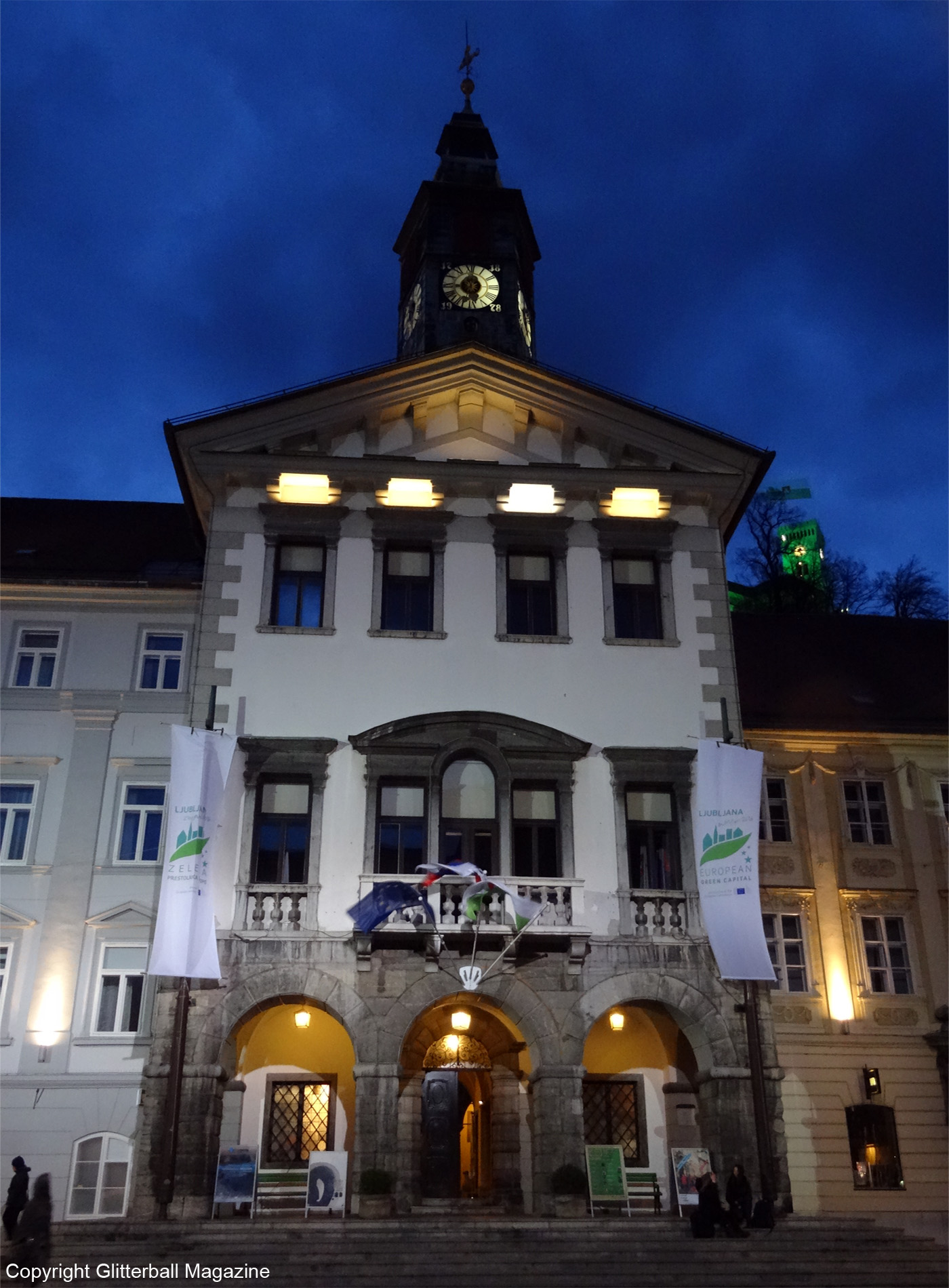 Ljubljana at night 1