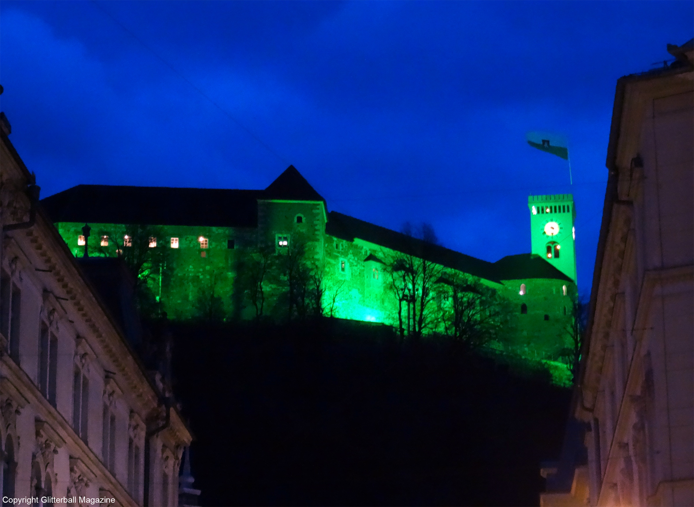 Ljubljana at night 8