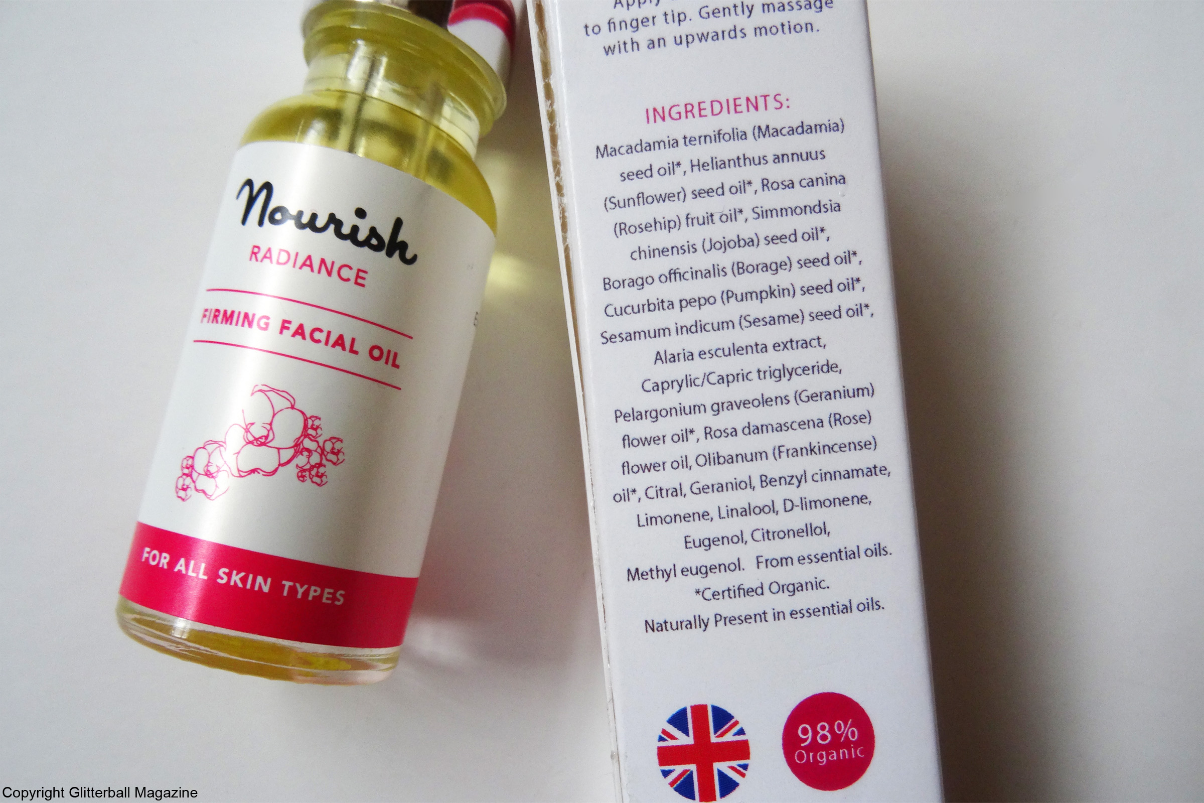 Nourish Radiance Firming Facial Oil 3