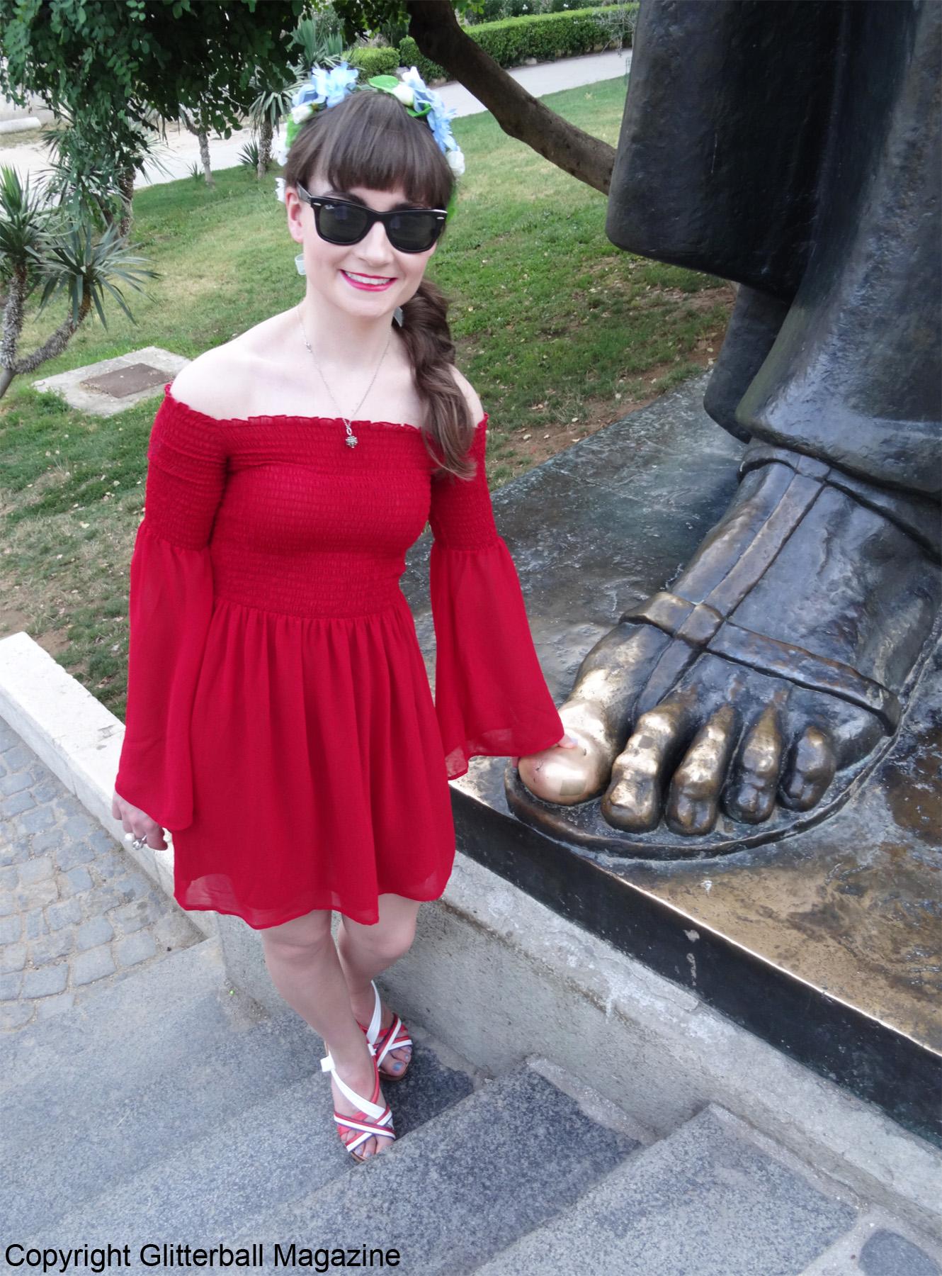 LOTW A Dramatic Dress 5