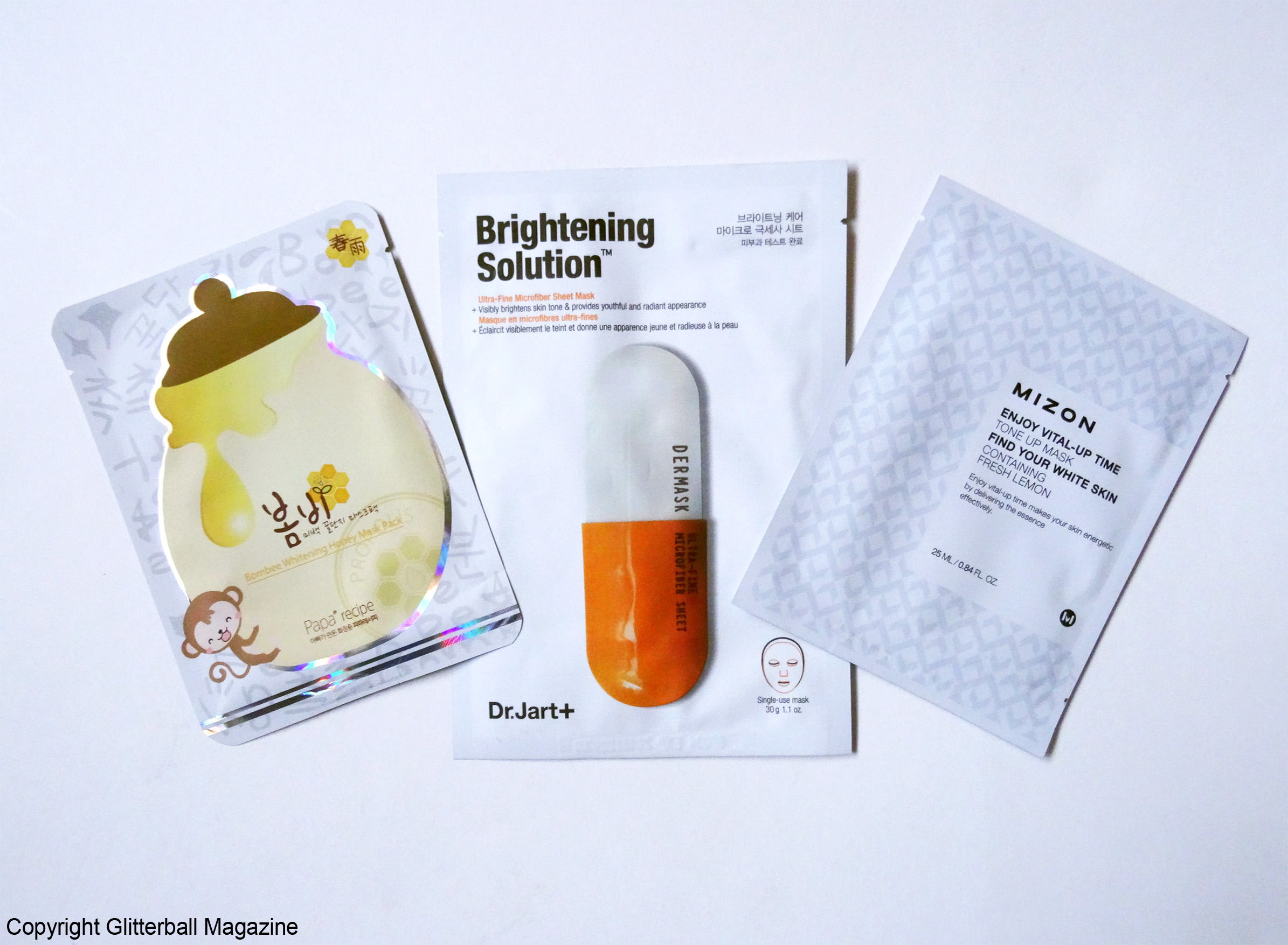 MY TOP 3 KOREAN BRIGHTENING SHEET MASKS - Glitterball Magazine