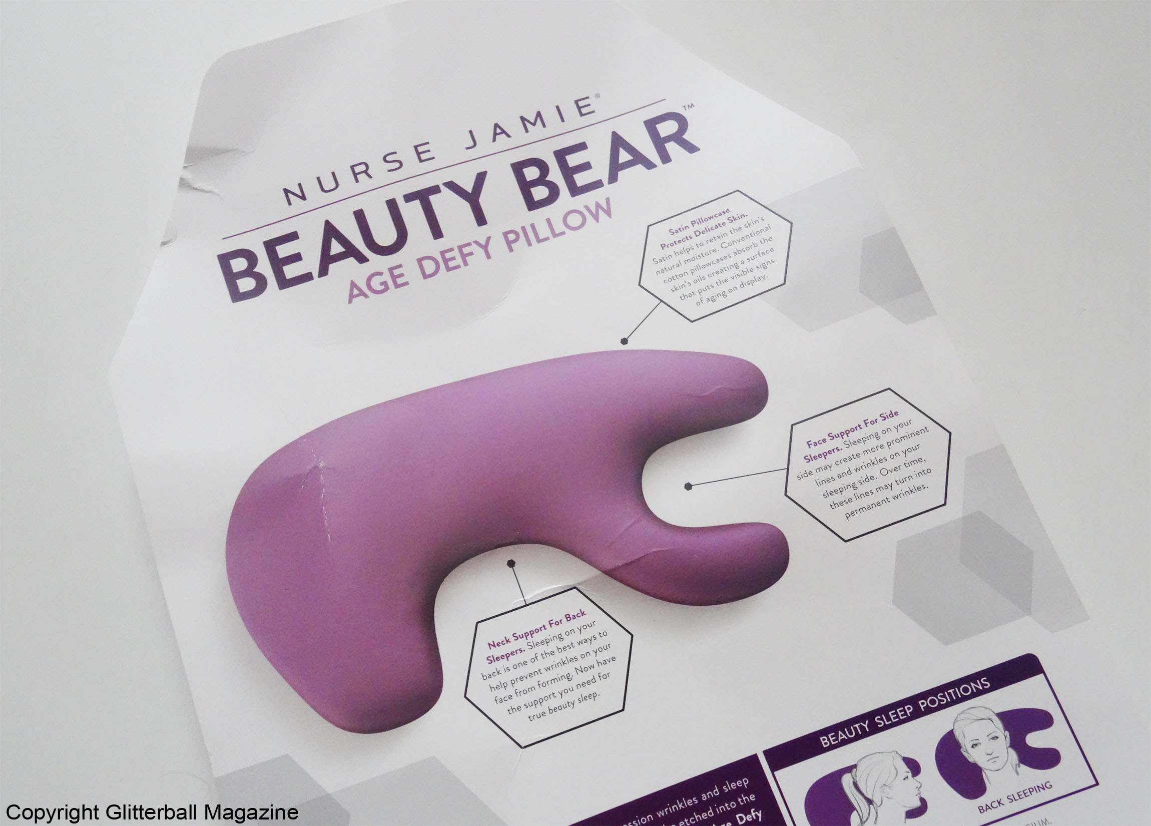 Once you have a Nurse Jamie Beauty Bear™ Age Delay Pillow you\u0027ll find it hard to use anything else. Trust me. It\u0027s sleek and sexy. & NURSE JAMIE BEAUTY BEAR™ AGE DELAY PILLOW - Glitterball Magazine pillowsntoast.com