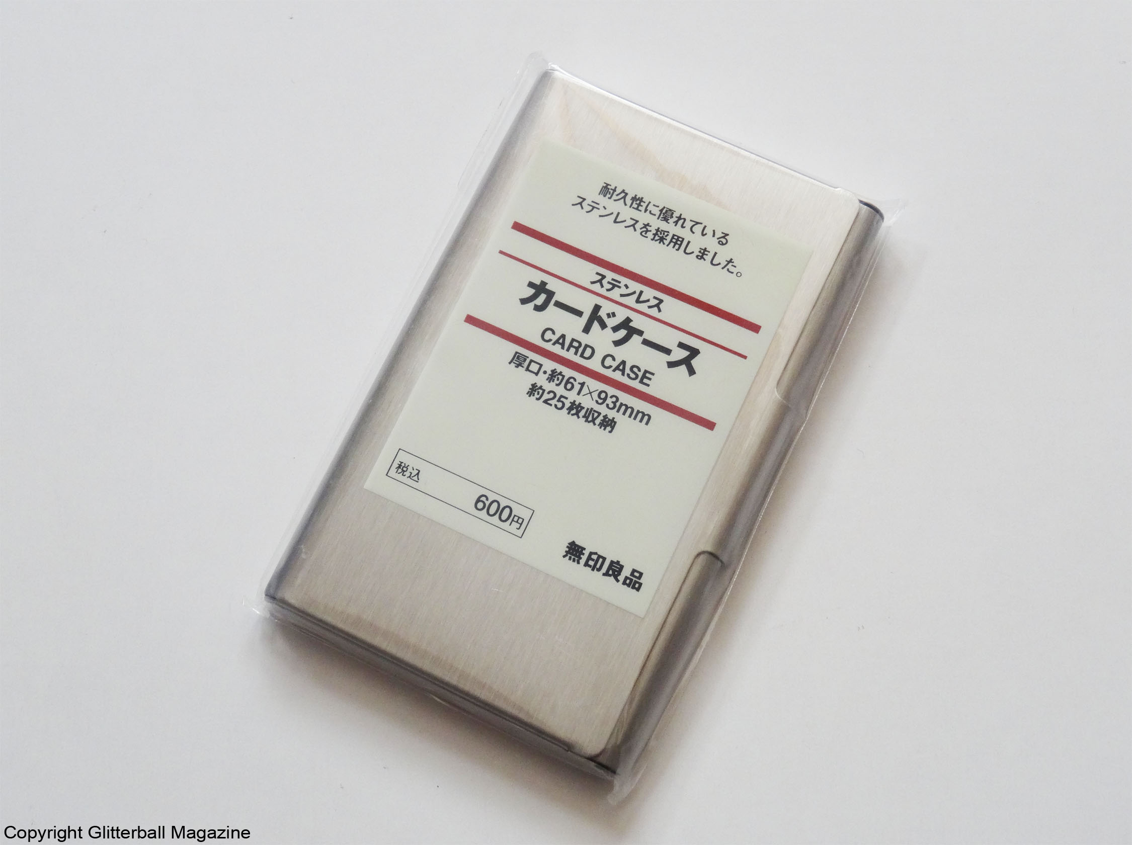 Fine Muji Business Card Holder Adornment - Business Card Ideas ...