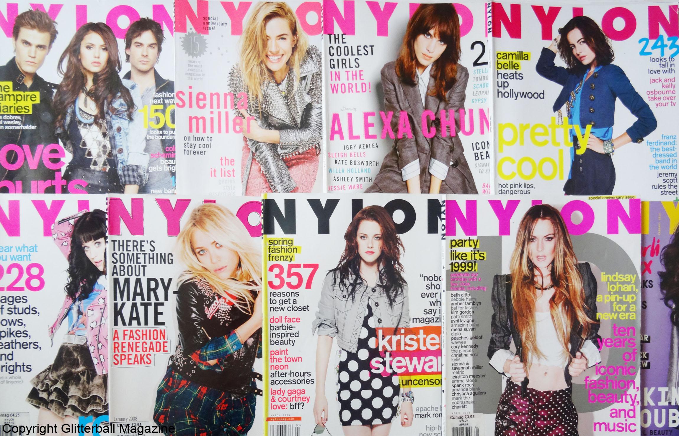 FAREWELL NYLON MAGAZINE: NYLON ENDING PRINT EDITIONS