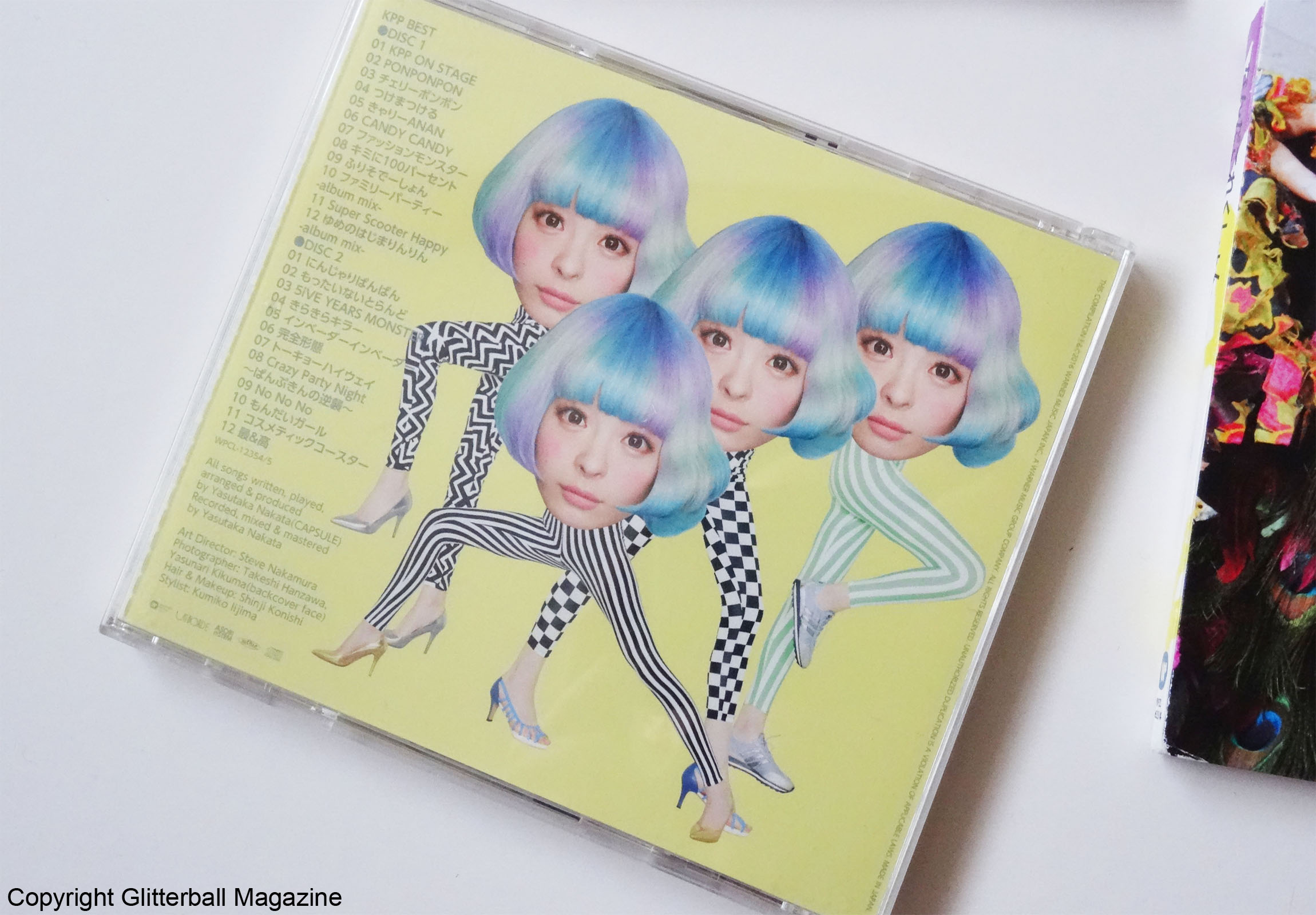 NYLON JAPAN KYARY PAMYU PAMYU J-POP CD BACK COVER