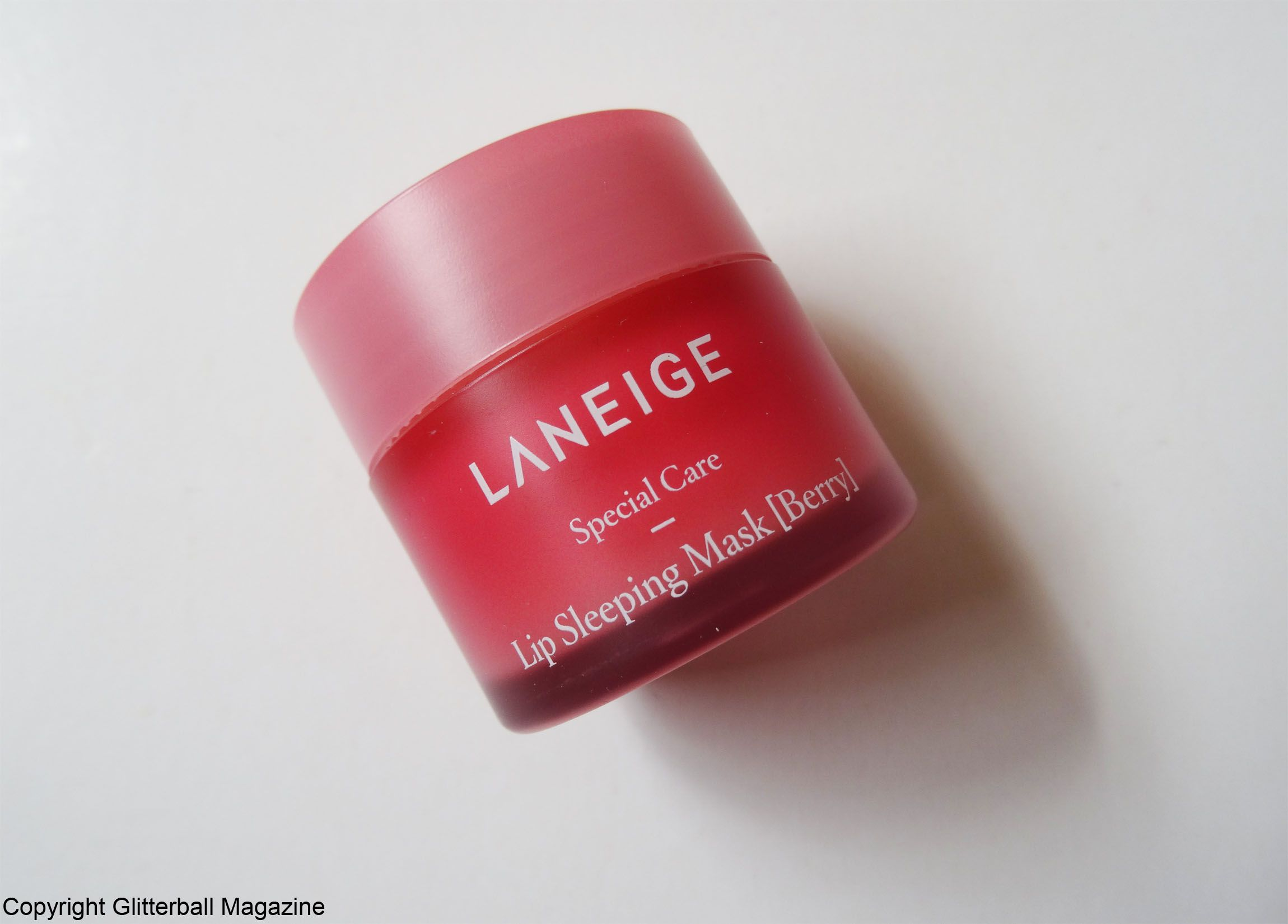 Review Laneige Berry Lip Sleeping Mask Glitterball Magazine Wake Up To Instantly Smooth Lips With The Its Best Way Moisturise While You Snooze